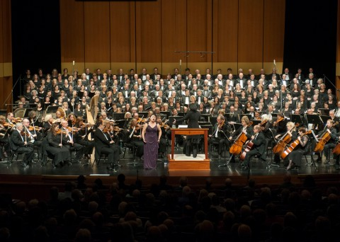 The Hartford Symphony Orchestra, Hartford Chorale, & soloists led by HSO Music Director, Carolyn Kuan