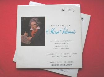 """Maestro Herbert von Karajan's recording of Beethoven's """"Missa Solemnis"""""""